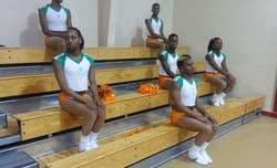 Alabama all male cheerleading Prancing Elites Mobile stack 1