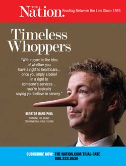 Rand Paul Lies