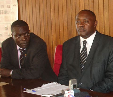 Drs Bitekyerezo and Baryomunsi