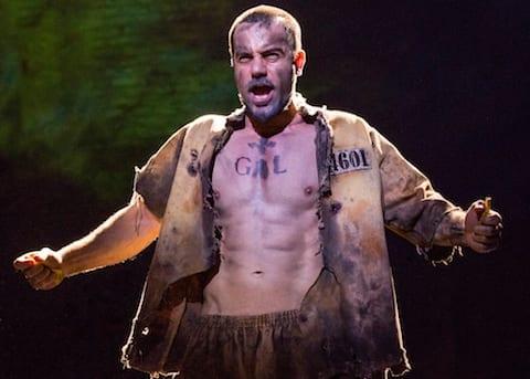 17. Ramin Karimloo as Jean Valjean.  Photo by Matthew Murphy-Edit
