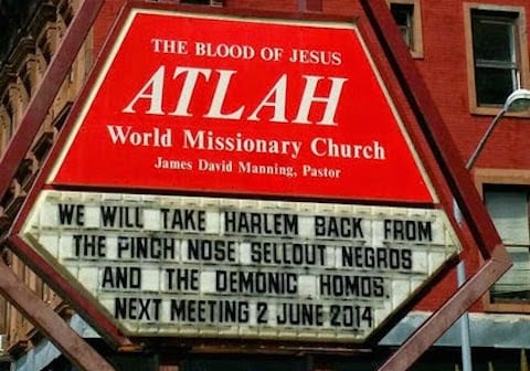 ATLAH Church Sellout Sign