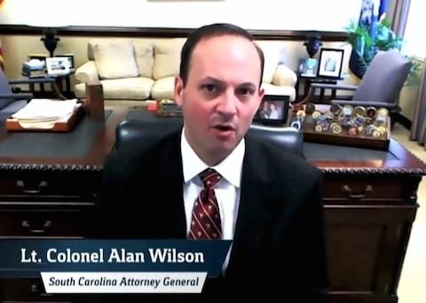 South Carolina Attorney General Alan Wilson