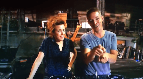 Annie Mac and Diplo