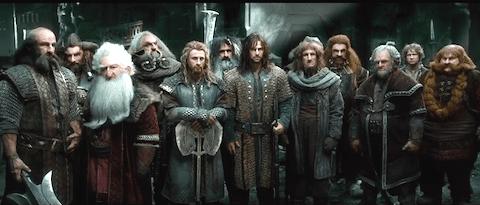 The Hobbit Battle of the Five Armies