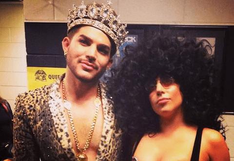 Adam Lambert & Lady Gaga
