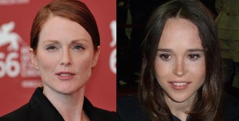 Julianne Moore Ellen Page