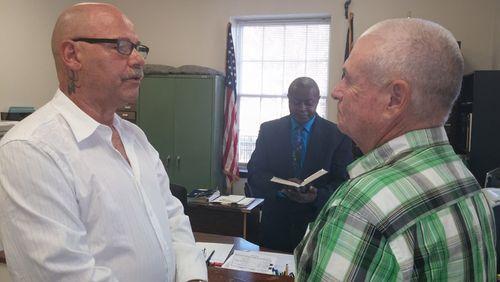 Randy Jackson and Eddie Locklear
