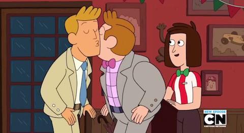 Gay cartoon video