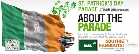 St Patricks Day parade Boston 2015