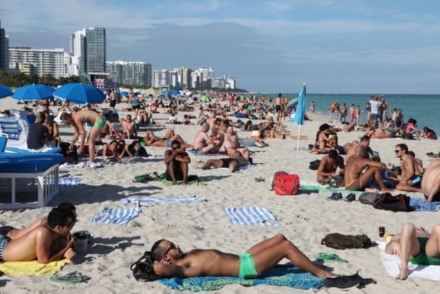 beach miami florida nude