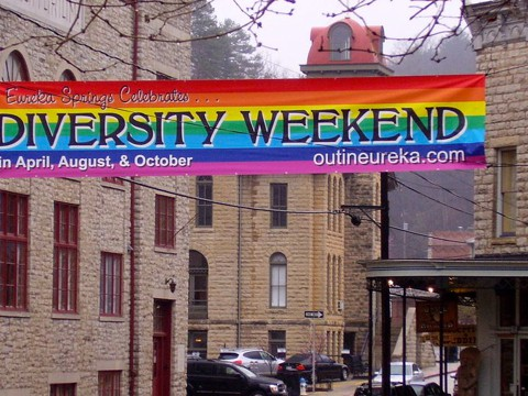 Eureka springs gay