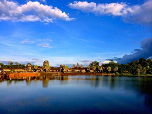 Siem Reap Reflection - Vogler