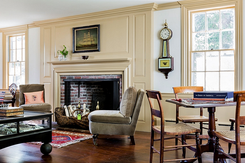 Colonial Farmhouse Charming Home Tour Town Amp Country Living