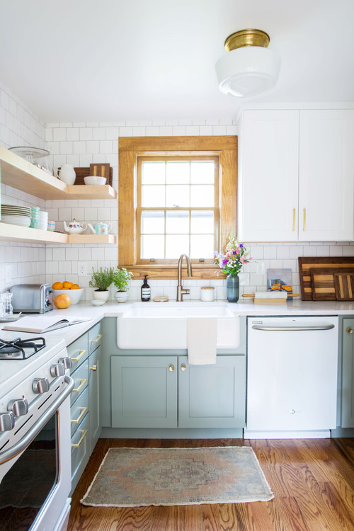 Cozy Cottage Kitchen Town Amp Country Living