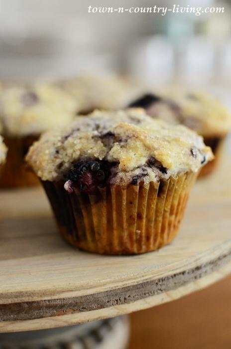 Best Ever Blackberry Lemon Muffins