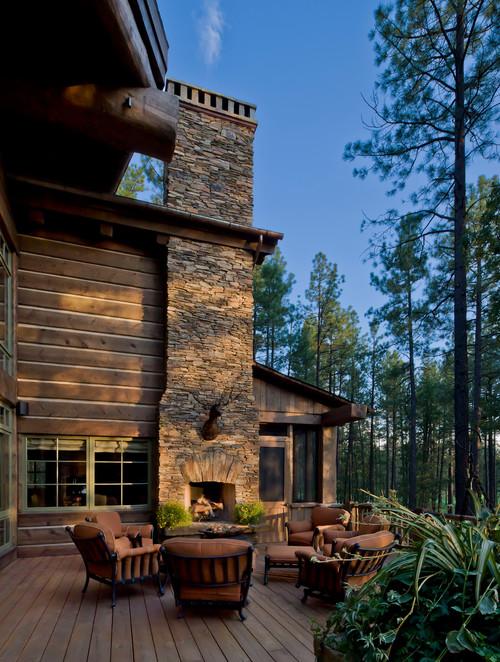 9 outdoor fireplace ideas town