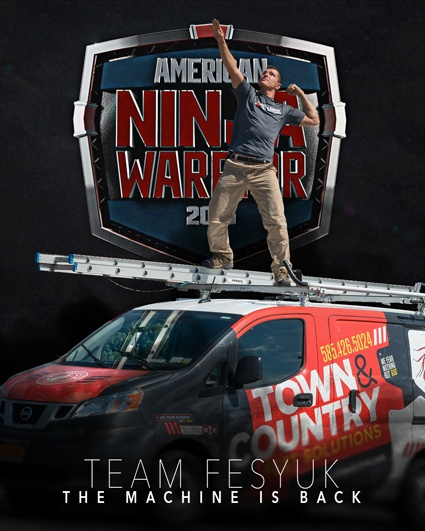 american ninja warrior, town and country, town and country pest solutions, pest, pests, rochester, syracuse, buffalo, rochester ny, syracuse ny, buffalo ny, new york, western ny, rochester exterminators, syracuse exterminators, buffalo exterminators, bed bugs, fabry, matt fabry, extermination, hire the pros, friendly, trustworthy