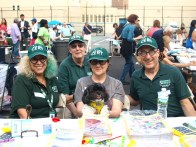 East Midtown Plaza resident Sheryl Arluck, Stuy Town resident Pat Sallin, Stuy Town resident Marilyn Pascarelli and her dog Bella and Third Avenue resident Kenneth Gray