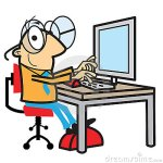 cartoon-man-working-computer-13780903