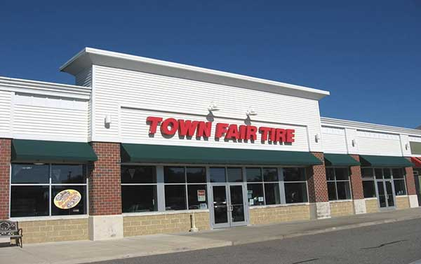 Town Fair Tire Store Located In