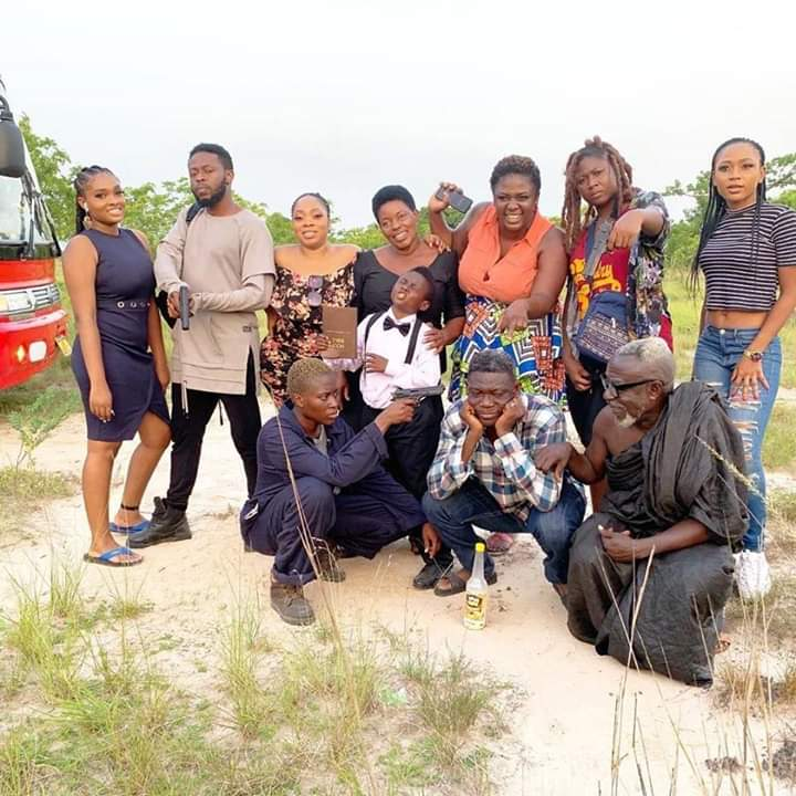 Agya Koo and the Away Bus Crew