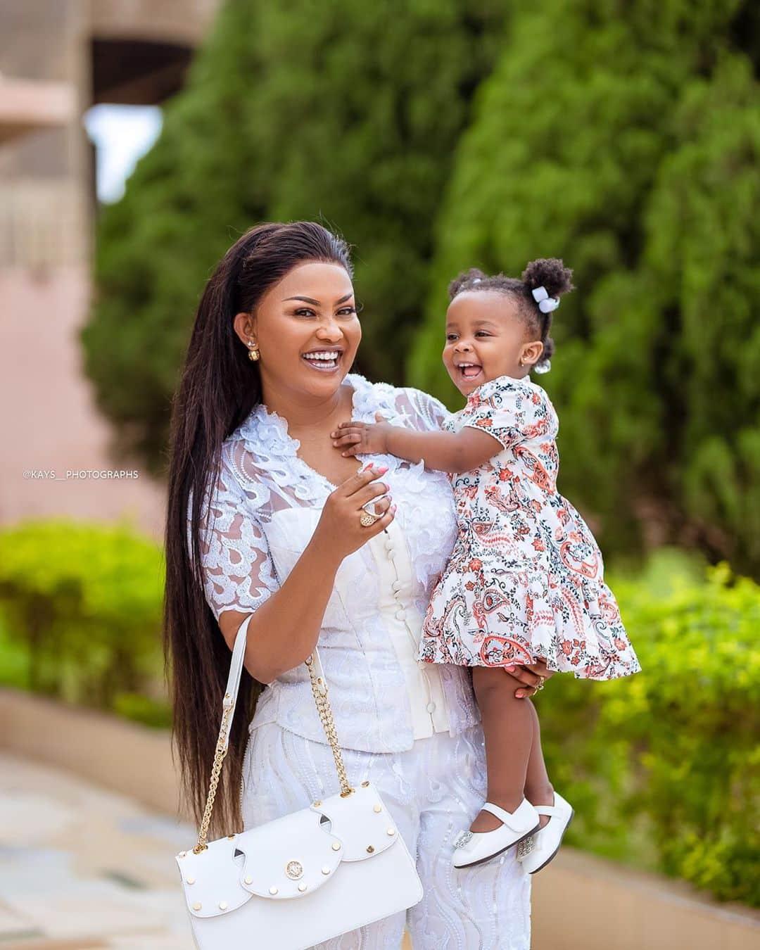Nana Ama and baby Maxine