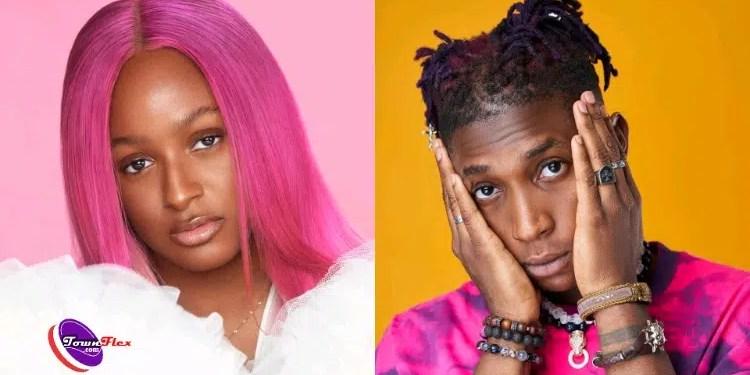 Nigerians drag DJ Cuppy after announcing possible collaboration with Bella Shmurda