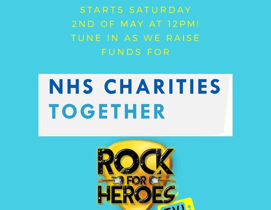 Rock For Heroes Fundraises for NHS Heroes
