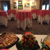Private company event held in the Stanton Art Gallery