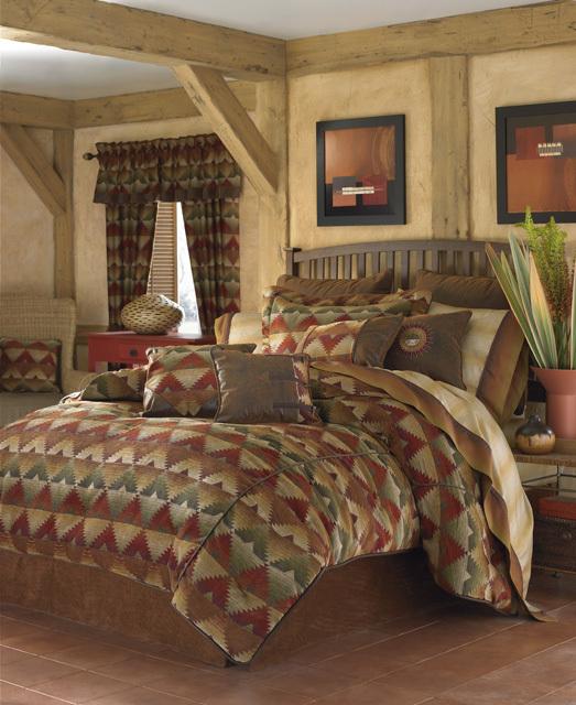 Santa Fe Bedding Ensemble By Croscill Townhouse Linens