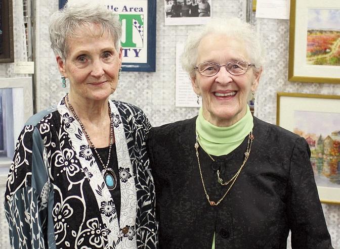 Patricia Binette and Pauline Turner
