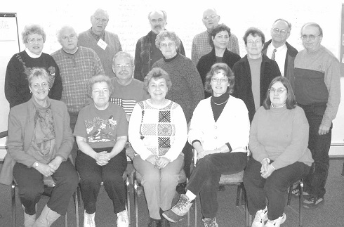 the staff, board of directors and interest-ed community members