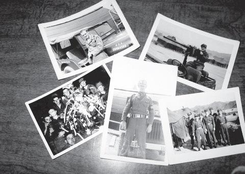 Photos of Milt Huntington in Korea in 1953. Photos courtesy of Milt Huntington