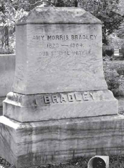 Amy Morris Bradley's grave