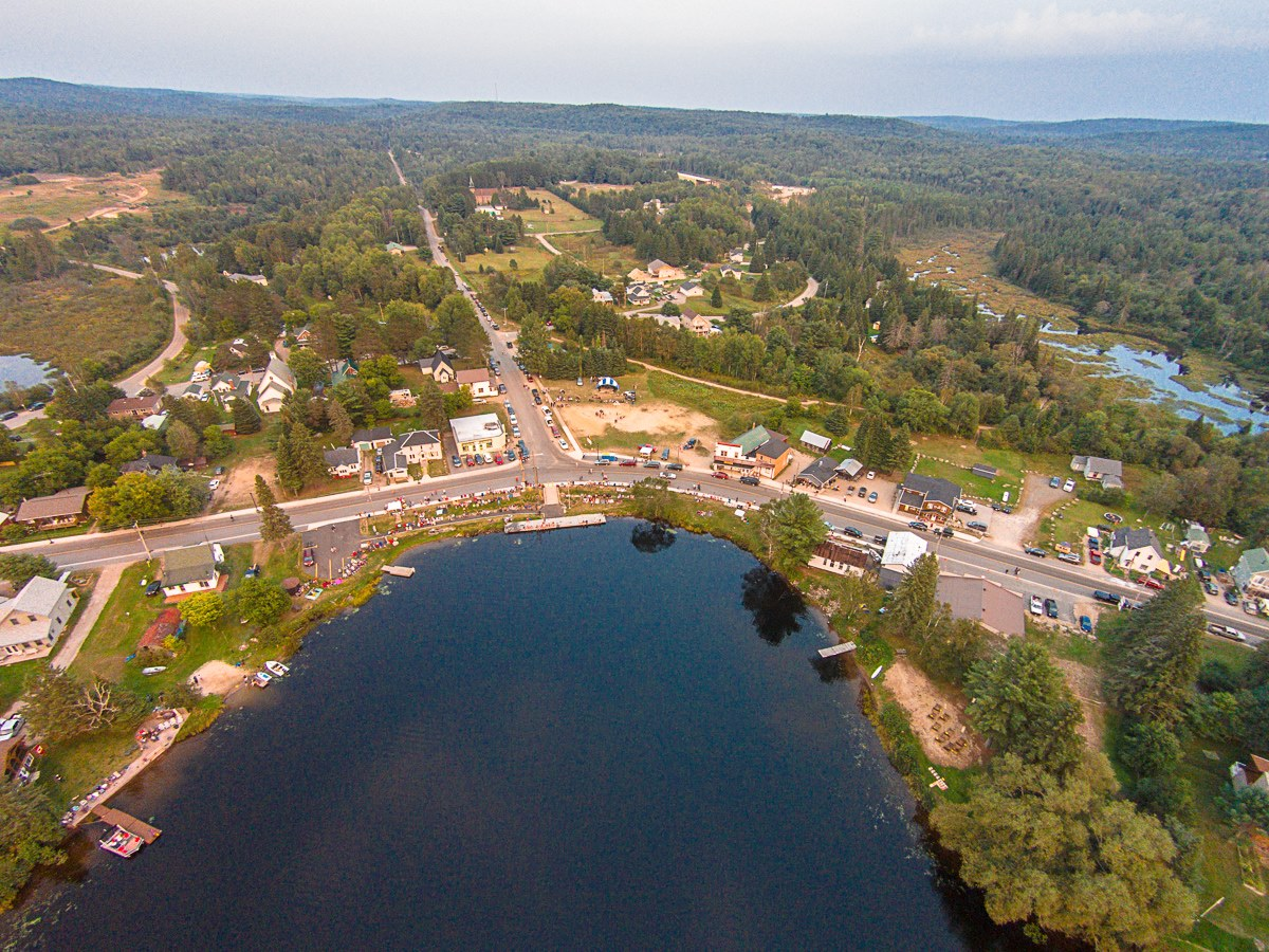 Kearney in the Summer Aerial