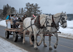Christmas Begins in Kearney Horse Rides