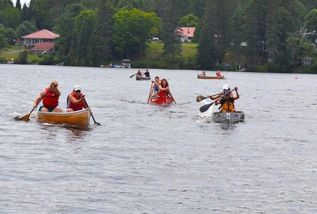 Regatta 2018 Canoe Races