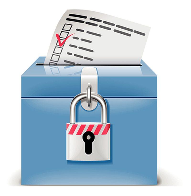 Ballot Voter Box