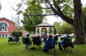 Summer concerts at the library