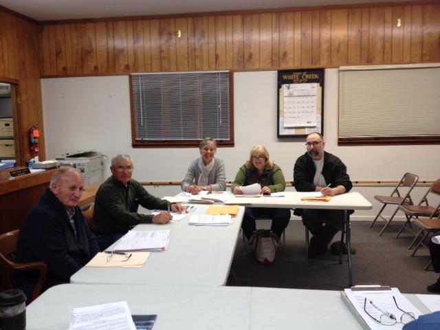 White Creek town board 2017