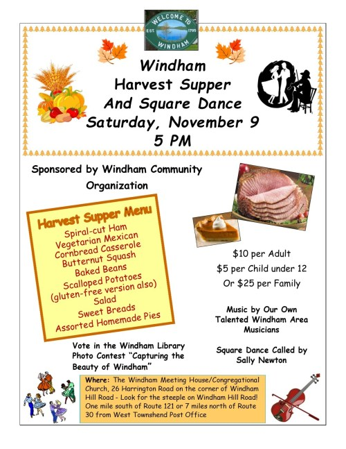 Windham Harvest Supper 2019