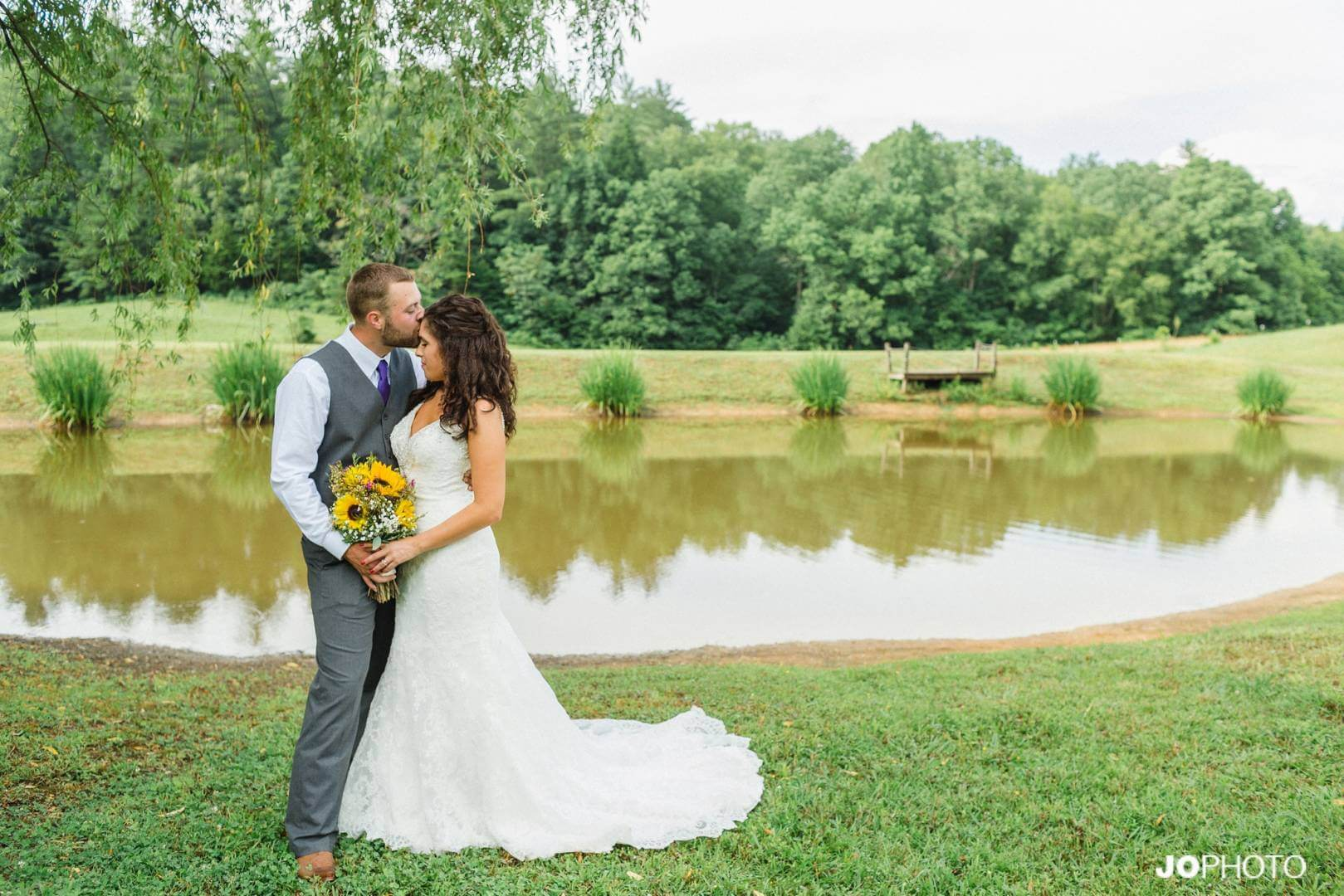 jessica and tyler selected one of our professional photographers named jophoto to handle their wedding and reception pictures at country manor acres