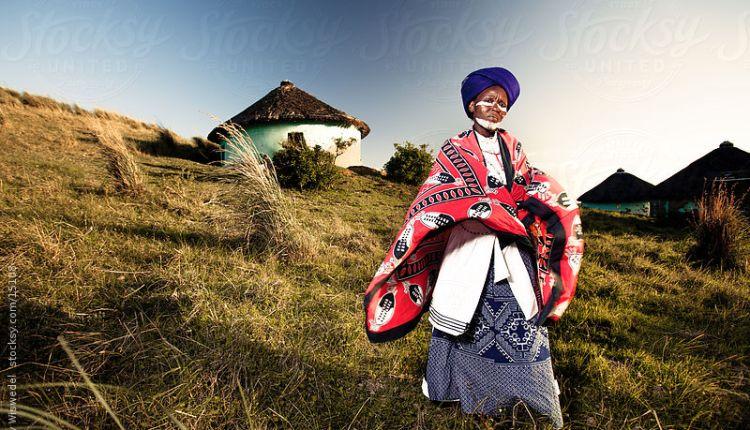 African Xhosa Traditional Healer