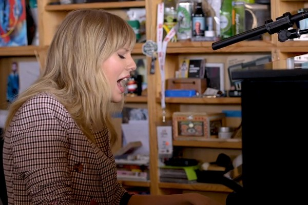 WATCH: Taylor Swift Strips It Down for NPR Tiny Desk Concert
