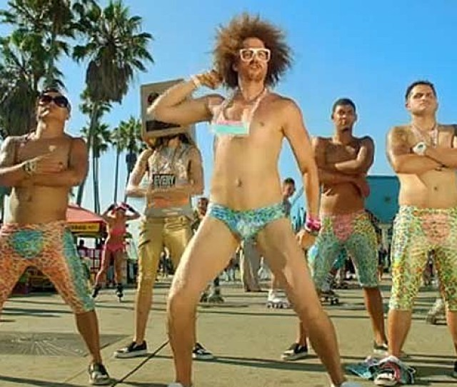 Lmfao Don Speedos And Wiggle It Sexy And I Know It Video