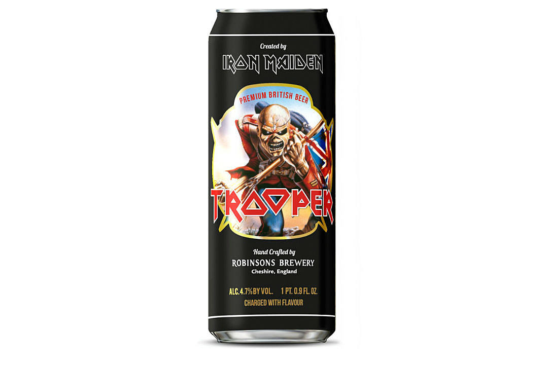 Image result for iron maiden trooper can