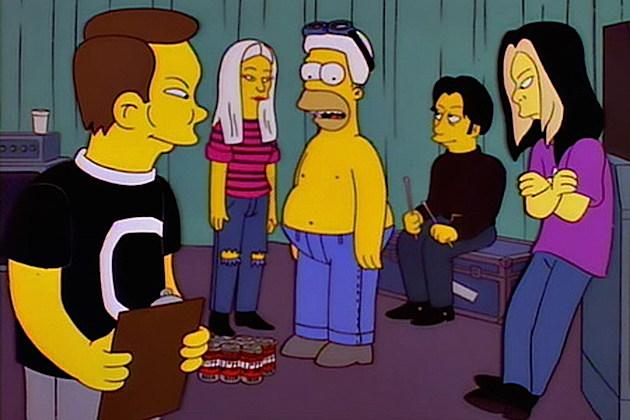 The Smashing Pumpkins – Rock Star Cameos on 'The Simpsons'