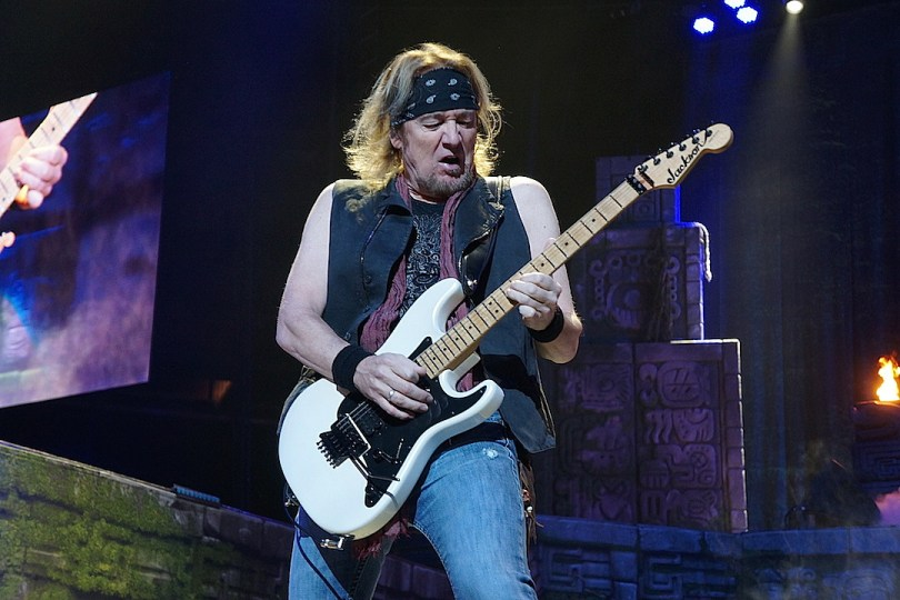 Iron Maiden Guitarist Adrian Smith to Release Autobiography