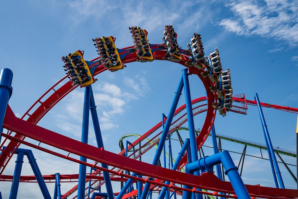 Six Flags Great Adventure Rollercoasters Ranked 2021