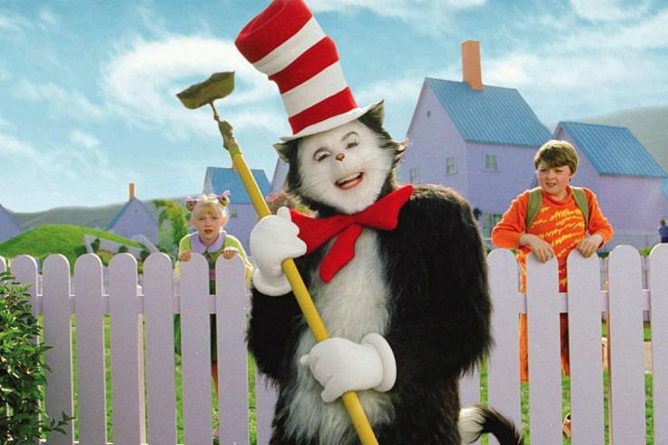 Kuvahaun tulos haulle cat in the hat movie